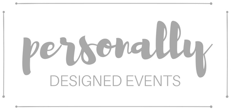 Personally Designed Events Logo